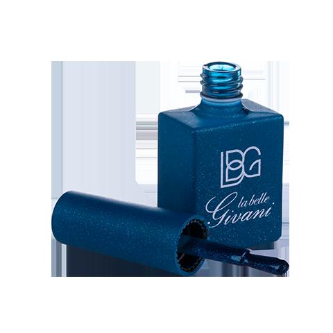 لاک آبی تیره  اکلیل ریز 7 رنگ مدل سابیا 33 Sabbia
